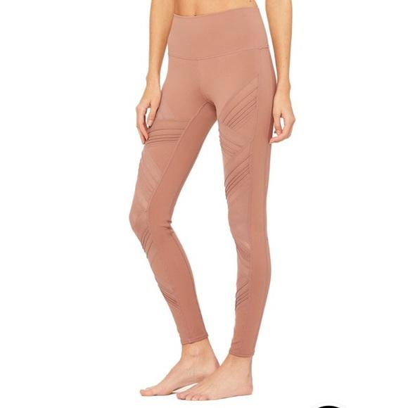 7b3575e28e ALO Yoga Pants | Ultimate High Waist Legging Rosewater | Poshmark